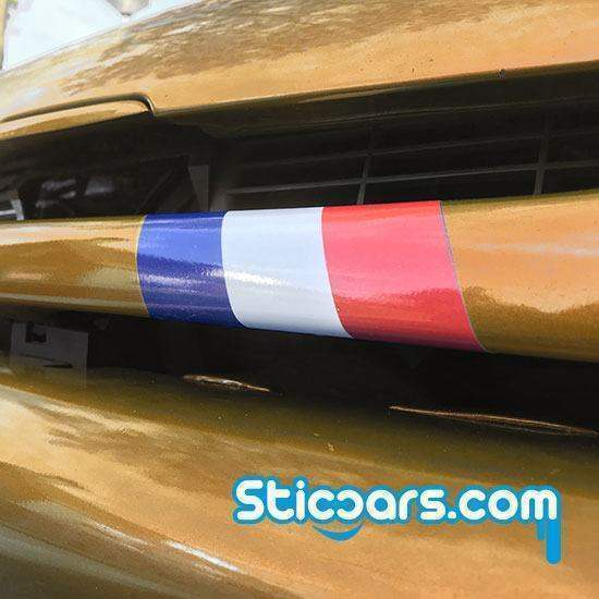 3986 franse vlag grill 10x20 cm