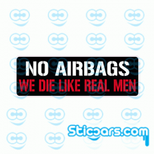 4111 no airbags 15x5 cm