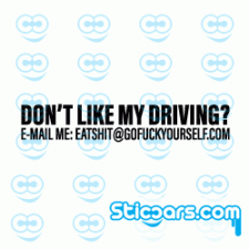 4144 dont like my driving