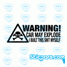 4160 warning car may explode
