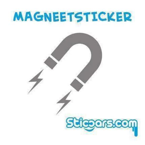 Magneetsticker full color