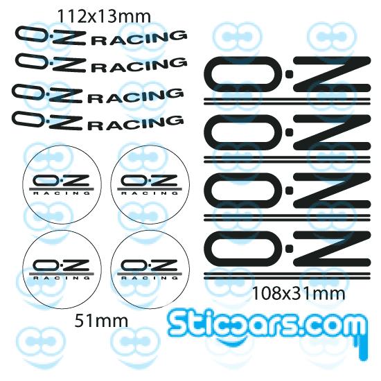 4305 OZ racing set