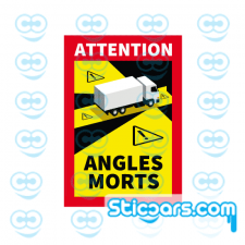 4309 Attention Angles Morts 17x25 cm