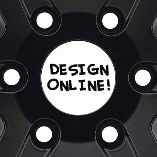 Naafkapsticker online design