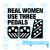 1314 real women use three pedals