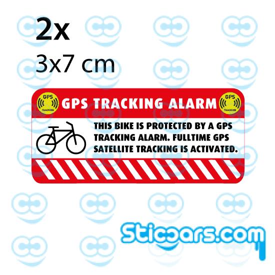 4361 GPS Bike 3x7 cm