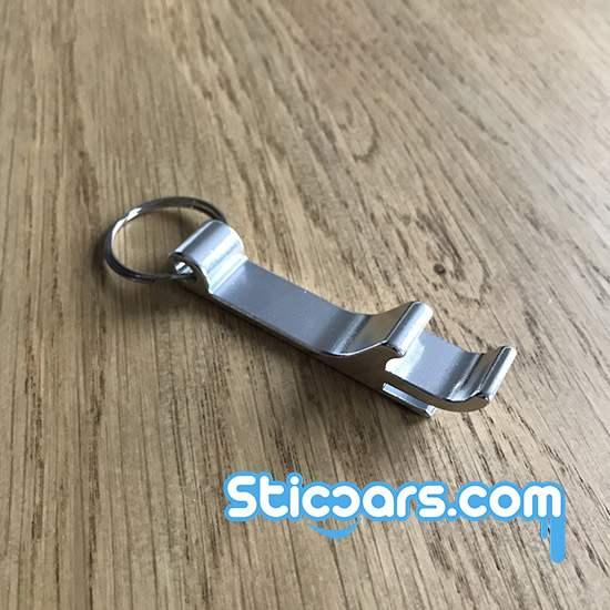 110 aluminium opener sleutelhanger