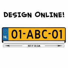 online design kentekensticker
