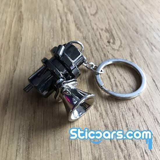 115 blow-off valve  sleutelhanger metaal