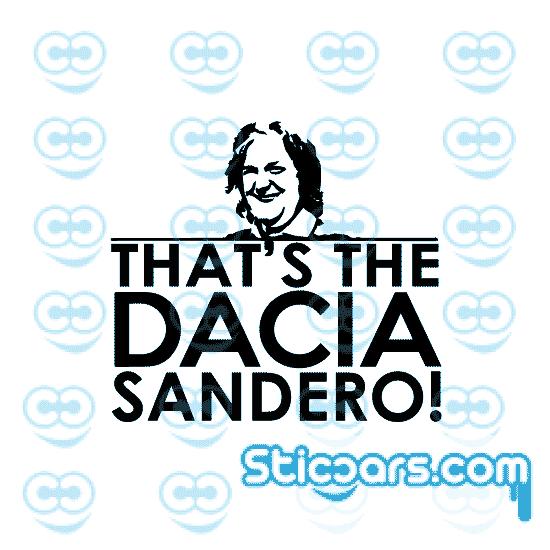 that's the dacia sandero topgear