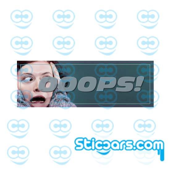 4430- slap sticker oops
