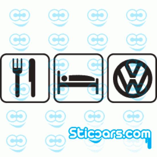 0162 Eat Sleep VW