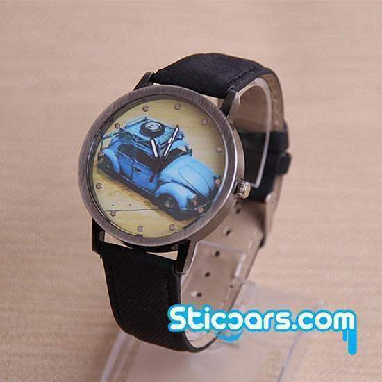 zwart horloge met VW Kever