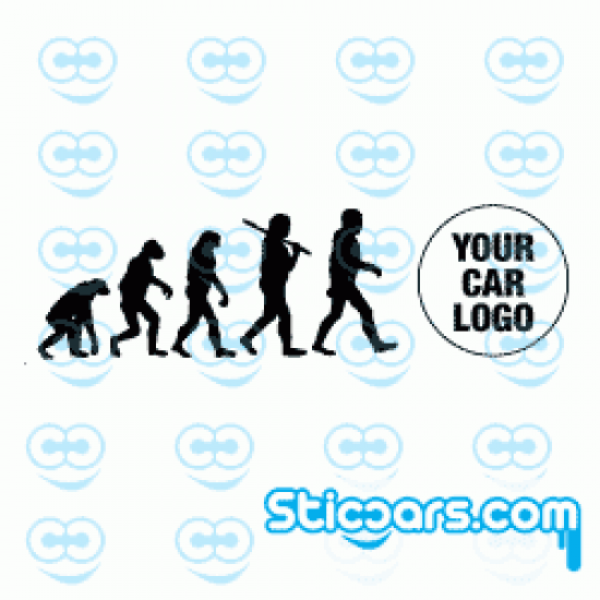 2046 Evolution met je auto logo