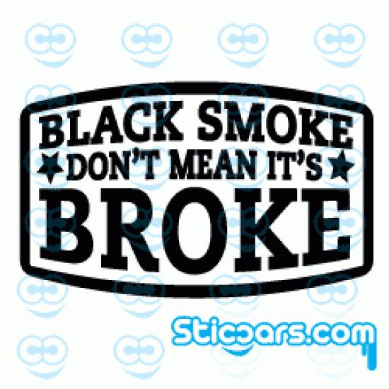 2249 Black smoke don't mean it's broke