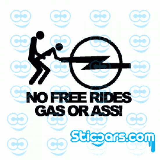 3197 no free rides Opel