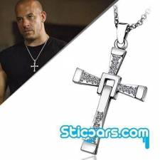 90 Vin Diesel ketting en kruis Fast and the Furious