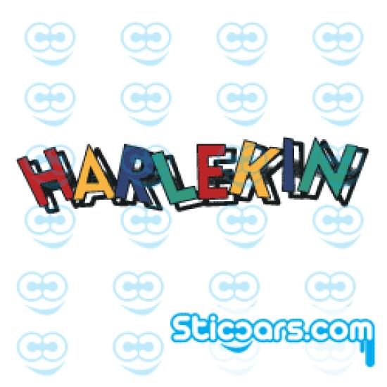 3532 VW Harlekin logo 13 cm