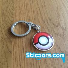 80 Pokemon Pokeball sleutelhanger