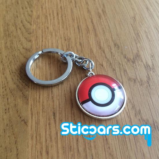 80 Pokemon Pokeball sleutelhanger