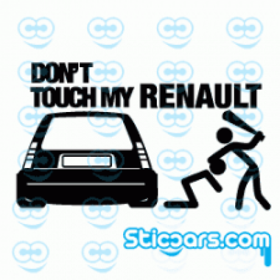 1301 Don't touch my Renault