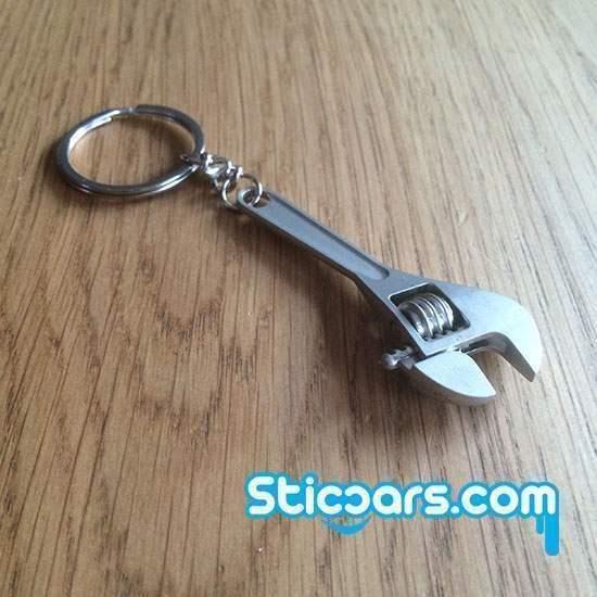 86 verstelbare moersleutel sleutelhanger