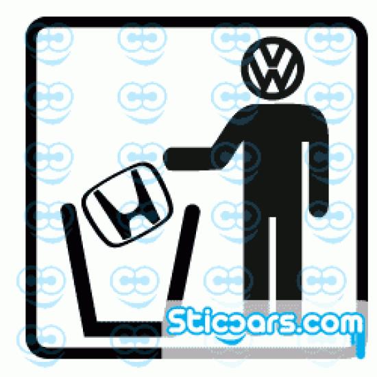 1353 VW Trash Honda