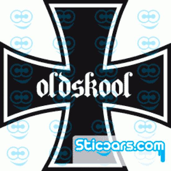 0317 Iron Cross Oldskool