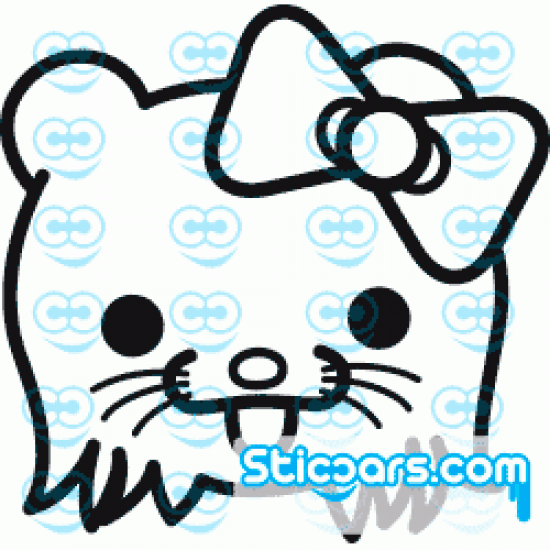 0455 Hello Kitty Pedobear