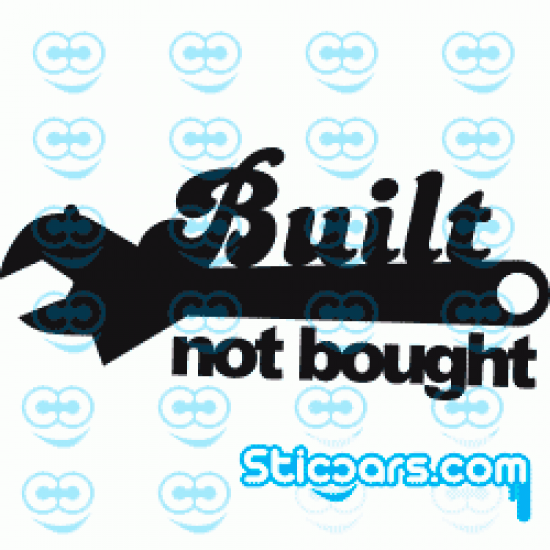 0761 Built Not Bought
