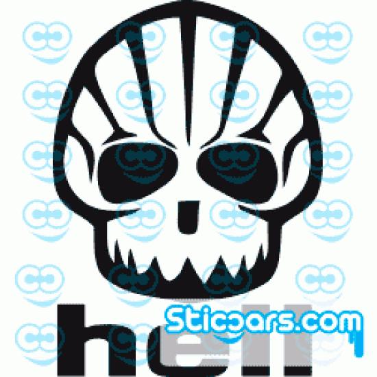 0791 Shell Hell Skull