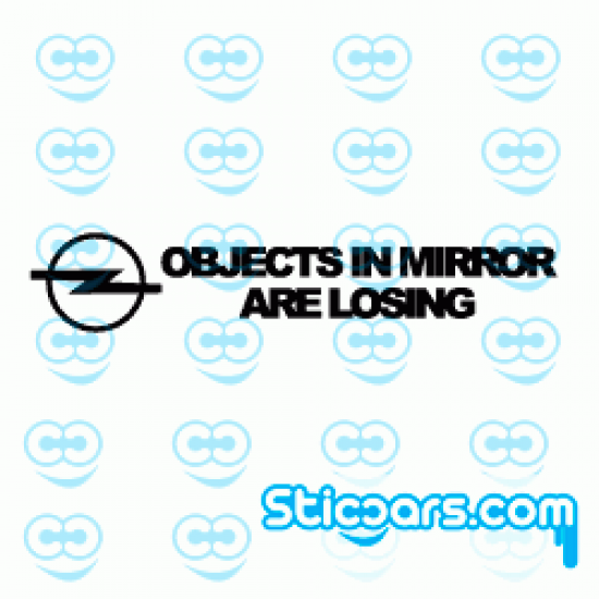 1013 Opel objects in mirror are losing