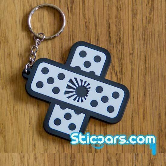 28 JDM Japan pleister sleutelhanger rubber