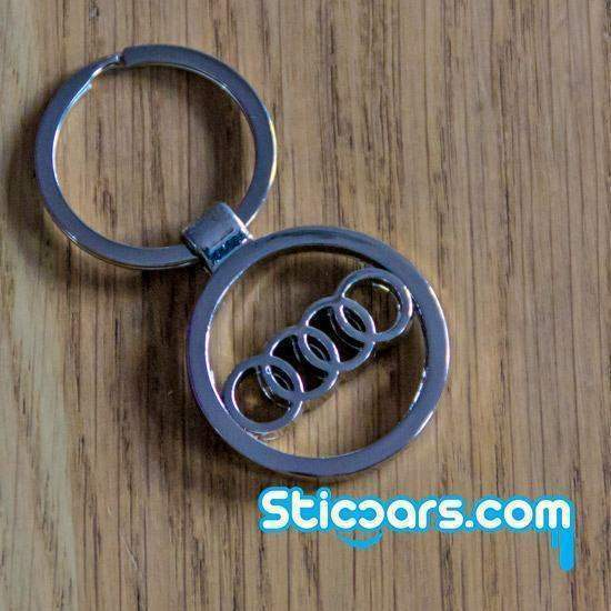4 Audi sleutelhanger