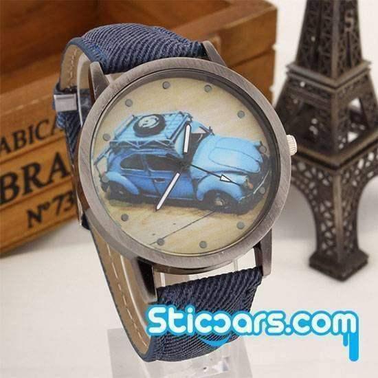 Horloge met VW Kever