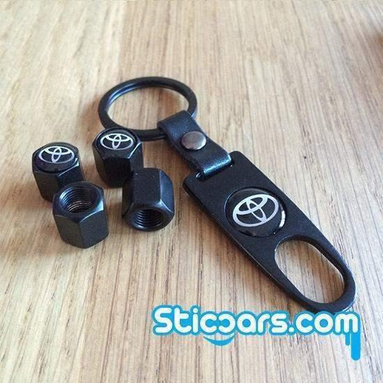 Toyota Ventieldopjes met sleutelhanger nr51